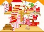 Кукольный домик: Расставь мебель