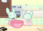 Кухня маленьких кроликов