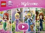 Лего принцессы Дисней ищут клад