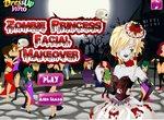 Макияж для зомби-девушки