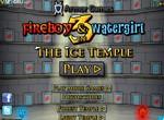Мальчик Огонь и девочка Вода  в ледяном храме 3