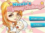 Мама Николь ухаживает за малышом