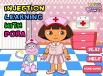 Медсестра Даша делает уколы