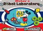 Микки Маус на фабрике роботов