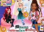 Модный челлендж диснеевских принцесс
