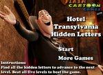 Найди буквы в Отеле Трансильвания