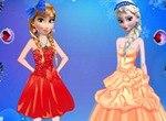 Наряды для принцесс Анны и Эльзы