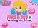 Несчастный случай с малышкой на кухне