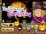 Няня на Хэллоуин для вампирят