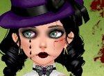 Одень готическую куклу
