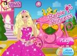 Одеваем принцессу Барби на бал
