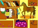 Одевалка модной лошадки