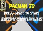 Пакман в лабиринте 3D