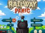 Паника на железнодорожных путях