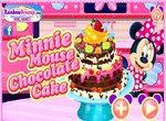 Печем торт с Минни Маус