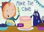 Пег и Кот украшают торт