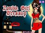 Переодень девушку в зомби