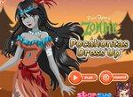 Переодевалка принцессы Покахонтас в зомби