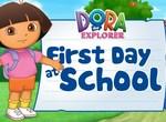 Первый день Даши в школе