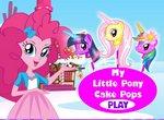 Пинки Пай готовит тортики на палочке