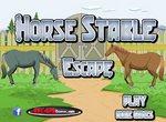 Побег лошадки из конюшни