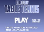 Пони в теннисном поединке