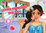 Принцесса Авалора в спа салоне