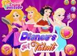 Принцессы Диснея на конкурсе талантов