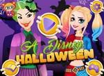 Принцессы готовятся к вечеринке Halloween