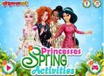 Принцессы готовятся к весенним мероприятиям