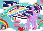 Радужный стиль пони Искорки