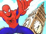 Раскрась рисунок с Человеком-пауком