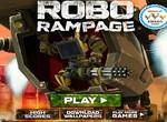 Робот в яростном бою