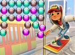 Сабвей Серфер: Цветные шарики