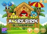 Сердитые птички возвращаются в гнездо