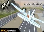 Симулятор полетов на самолете 3Д