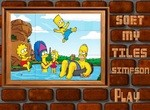 Собери картинку с семьей Симпсонов