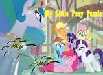 Собери пазлы My little pony