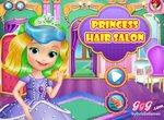 София Прекрасная в салоне для принцесс