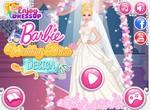 Создай свадебное платье для Барби