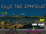 Спаси Симпсона от байкеров