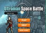 Сражение Ультрамена в космосе