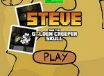 Стив и череп Крипера