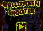 Стрельба тыквами на Хэллоуин