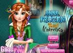 Стрижка и укладка для принцессы Анны