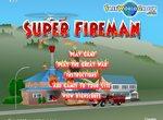 Супер пожарный спасает людей