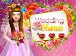 Свадебная прическа для милой невесты