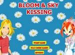 Свадебный поцелуй Ская и Блум