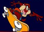 Тасманский враг рода человеческого Таз нате скейте