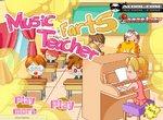 Учитель пукает на уроке музыки